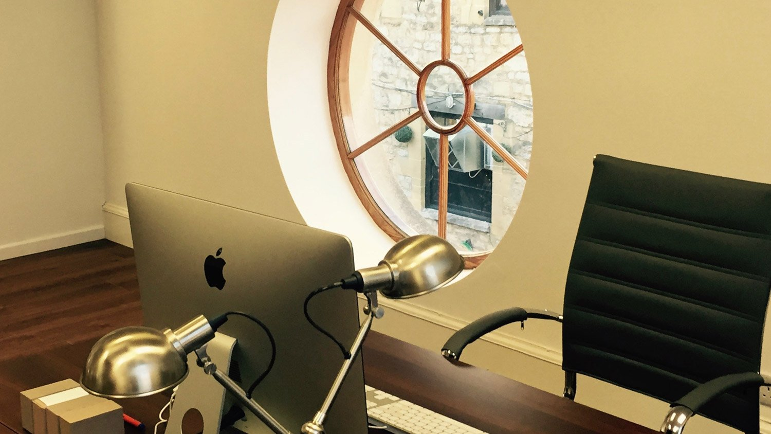 Window in our Angel Court coworking space