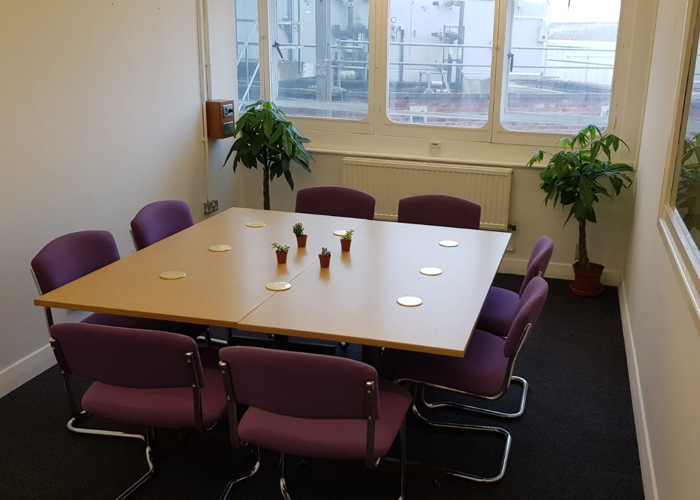 Lovely light meeting room in Stoke-on-Trent