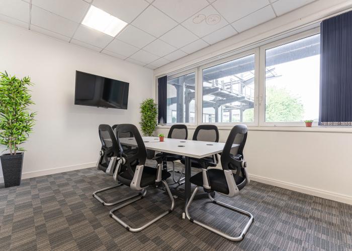 Smart and Intimate Meeting Room at The Wheelhouse Birmingham